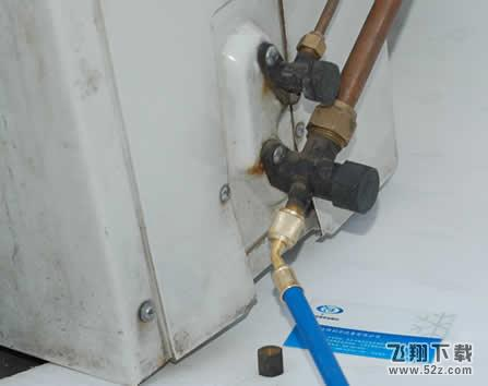 空调加氟步骤和方法