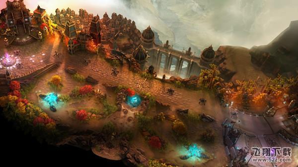 虚荣vainglory:魔幻风格的高清游戏画面,唯美粒子光效图片