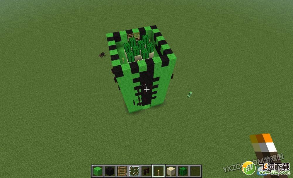 我的世界仙人掌模型房屋怎么制作