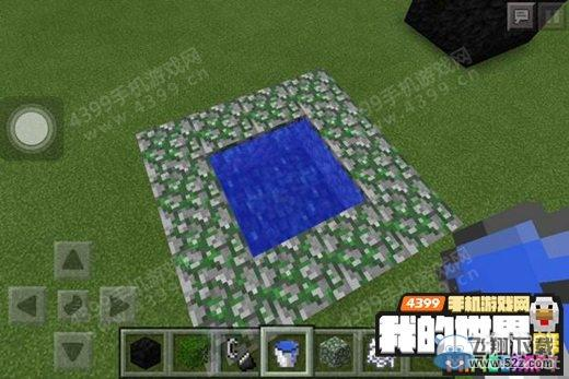 《我的世界手机版》深水池建造图文教程