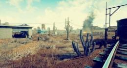 绝地求生大逃杀沙漠地图小地图曝光 沙漠僵尸小城够刺激