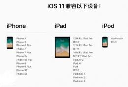 苹果iOS11正式版固件下载地址分享