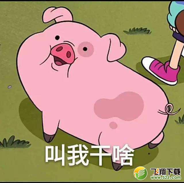 屁屁猪头像_动漫 卡通 漫画 头像 640_639