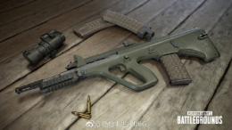 绝地求生新增武器AUG A3属性详解