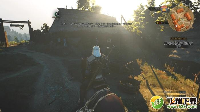 巫师3追踪希里:威伦十字路口旅店任务图文攻略_52z.com