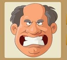 《疯狂猜成语》一个人咬牙齿是什么成语