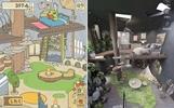设计师制作《旅行青蛙》同款小屋 与游戏如出一辙