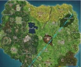 堡垒之夜球场在哪 足球场位置坐标一览
