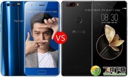 荣耀9和努比亚Z17手机对比实用评测