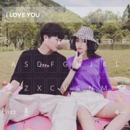 甜蜜浪漫情侣带字头像一对两张 唯美浪漫恩爱带字情侣头像一对2018精选