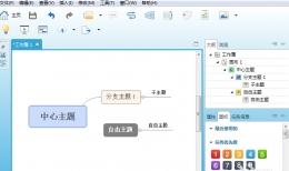 XMind主题自由调整方法教程