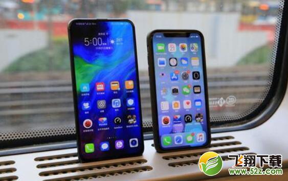 荣耀Magic2和iPhoneXS信号强弱测试对比