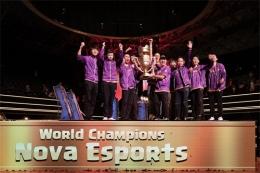 CRL全球总决赛冠军NOVA赛后:冠军早该属于中国!