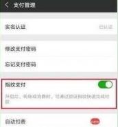 华为畅享9手机设置微信指纹支付方法教程