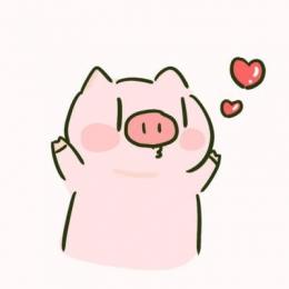 2019猪年情侣头像一对两张超可爱 卡通猪情侣头像一男一女2019精选