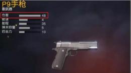 荒野行动M1917左轮手枪属性介绍