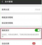 华为nova4e手机设置微信指纹支付方法教程