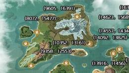 创造与魔法云斑鹦鸟刷新位置坐标一览