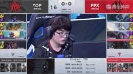 2019lpl春季赛季军赛4月17日FPX VS TOP比赛直播视频