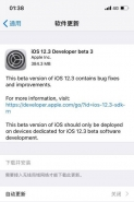 苹果iOS12.3 beta3更新使用方法教程