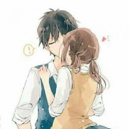 动漫情侣头像亲吻或拥抱2019 动漫情侣头像亲吻暧昧 一对好看的
