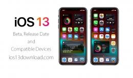 苹果ios13系统升级教程