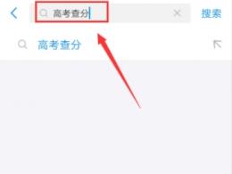 支付宝app2019高考成绩查询教程
