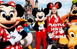 迪士尼乐园员工是假装开心是怎么回事?
