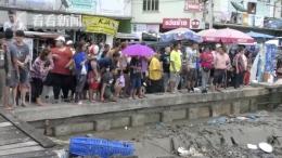 泰国水上餐厅坍塌是怎么回事 泰国水上餐厅坍塌是什么情况