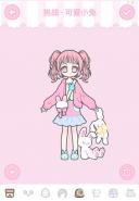 装扮少女可爱小兔三星通关攻略