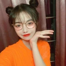 QQ橙色系女生头像大全可爱 2019橙色系清纯可爱女生头像大全