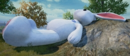 《和平精英》兔子蹦床位置坐标一览