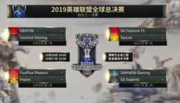 lolS9总决赛八强赛分组情况介绍