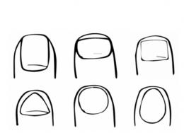QQ画图红包指甲画法教程