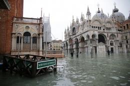 威尼斯80%被淹是怎么回事 威尼斯80%被淹是真的吗