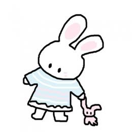 蠢蠢兔系列头像呆萌呆萌的 呆萌蠢蠢的小兔子头像图片2019