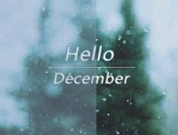 2019十二月微信说说带图片 11月再见12月你好说说精致句子
