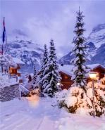 雪景图片大全唯美意境 大雪纷飞图片美景