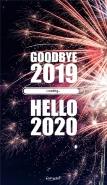再见2019你好2020手机壁纸大全 迎接2020的壁纸图片高清带字