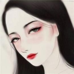 素描唯美人物个性头像高清2019 好看的女生素描头像有个性2019
