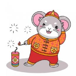 鼠年Q版头像卡通可爱 2020鼠年微信头像合集