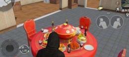 和平精英团圆餐桌位置坐标一览