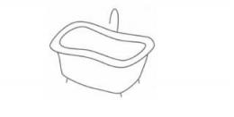 QQ画图红包浴缸画法教程