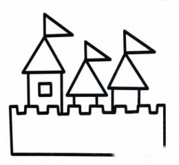 QQ画图红包城堡画法教程