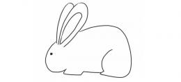 QQ画图红包兔子画法教程