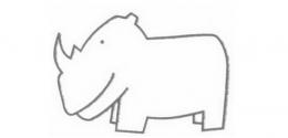 QQ画图红包犀牛画法教程