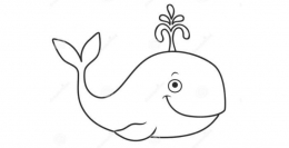 QQ画图红包鲸鱼画法教程