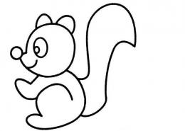 QQ画图红包松鼠画法教程