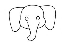 QQ画图红包大象画法教程