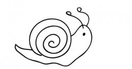 QQ画图红包蜗牛画法教程